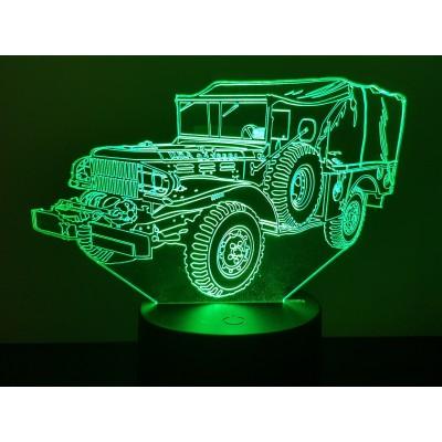 LAMPE 3D - DODGE WC 52 -