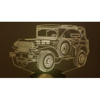 LAMPE 3D - DODGE WC 58...