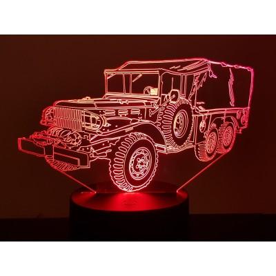 LAMPE 3D - DODGE WC 63 -