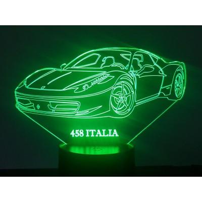 LAMPE 3D - FERRARI 458...