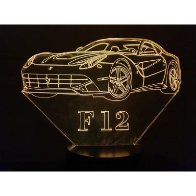 LAMPE 3D - FERRARI F12 -
