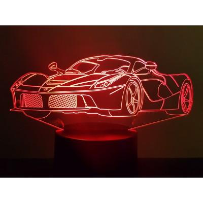 LAMPE 3D - LA FERRARI -