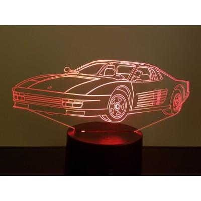 LAMPE 3D - FERRARI...
