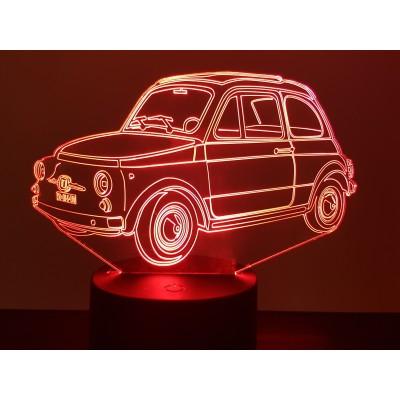 LAMPE 3D - FIAT 500 -