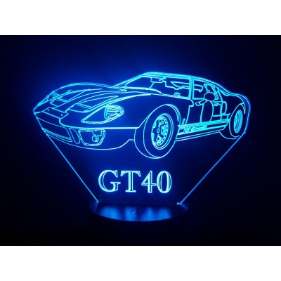 LAMPE 3D - FORD GT 40 -
