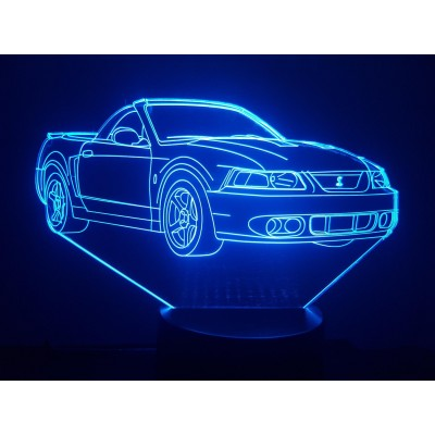 LAMPE 3D - FORD MUSTANG...