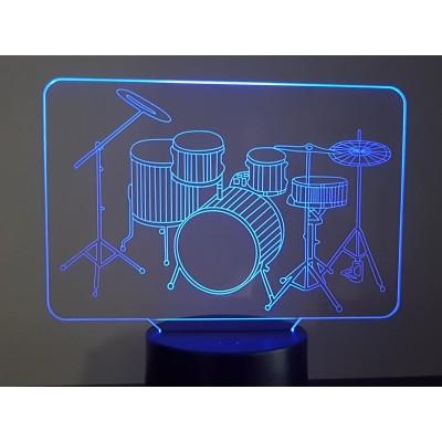 LAMPE 3D - BATTERIE -