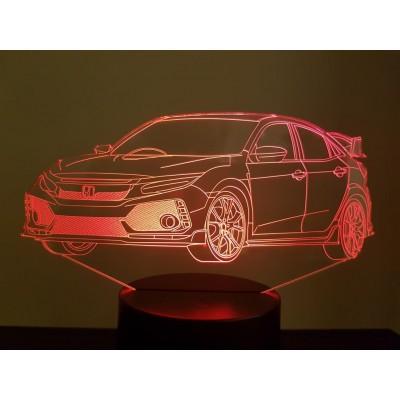 LAMPE 3D - HONDA Civic Type...