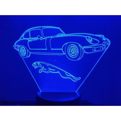 LAMPE 3D - JAGUAR Type E -