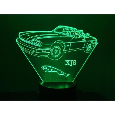 LAMPE 3D - JAGUAR XJS -