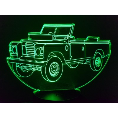 LAMPE 3D - LAND ROVER...