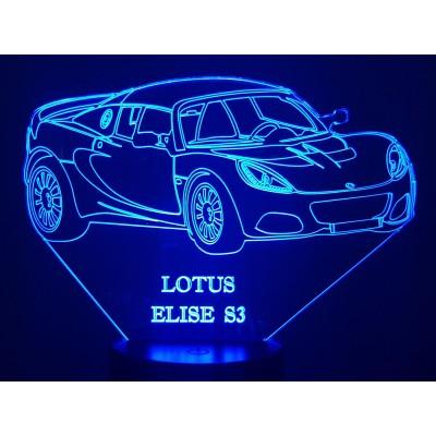 LAMPE 3D - LOTUS ELISE S3 -