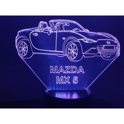 LAMPE 3D - MAZDA MX5...