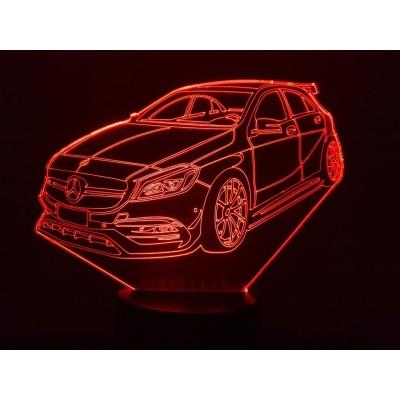 LAMPE 3D - MERCEDES  A45 AMG -