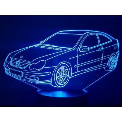 LAMPE 3D - MERCEDES  CL 203 -