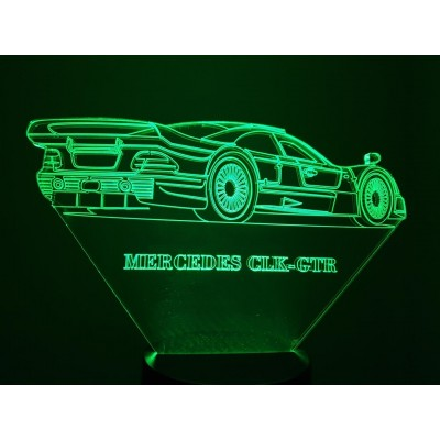 LAMPE 3D - MERCEDES  CLK...