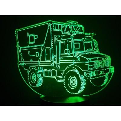 LAMPE 3D - MERCEDES UNIMOG...