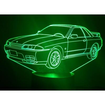 LAMPE 3D - NISSAN GTR R32 -