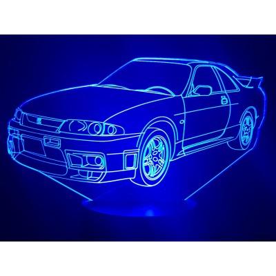 LAMPE 3D - NISSAN GTR R33 -