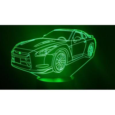 LAMPE 3D - NISSAN GTR R35 -