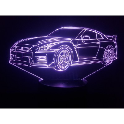 LAMPE 3D - NISSAN GTR R35...