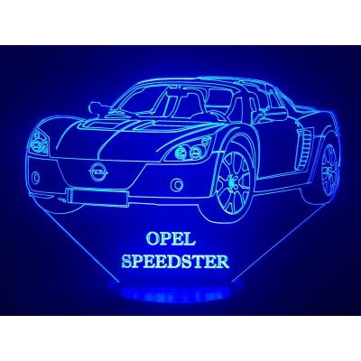 LAMPE 3D - OPEL SPEEDSTER -