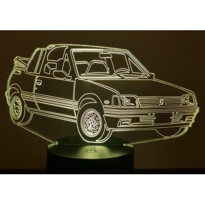 3D LAMPE - PEUGEOT 205 CTI -