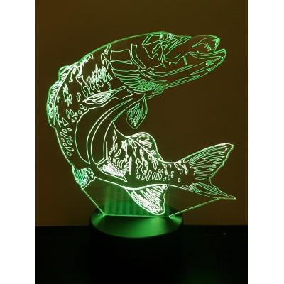 LAMPE 3D - BROCHET -