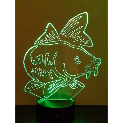 LAMPE 3D - CARPE -