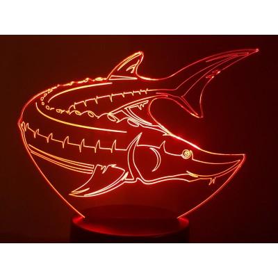 LAMPE 3D - ESTURGEON -