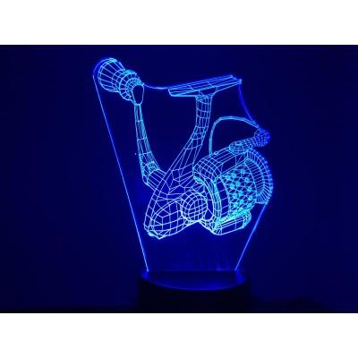 LAMPE 3D - MOULINET 1-