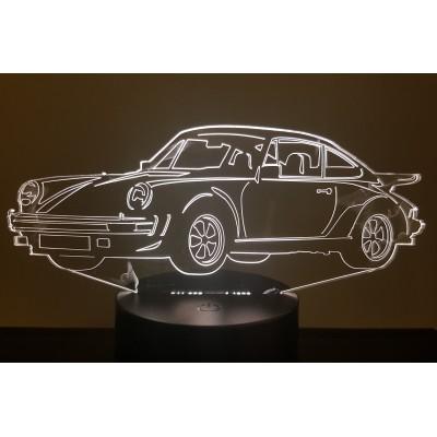 LAMPE 3D - PORSCHE  911-930...