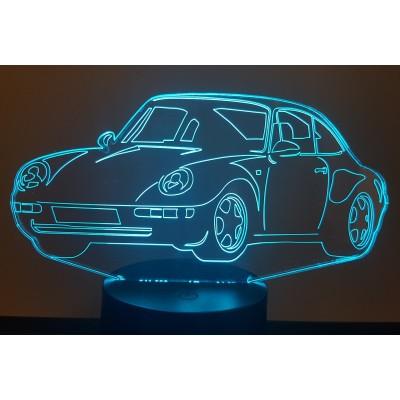 LAMPE 3D - PORSCHE 911-993...