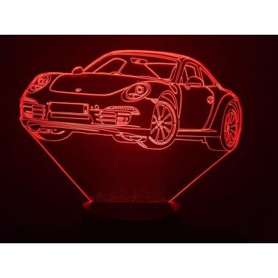 LAMPE 3D - PORSCHE  911-991...