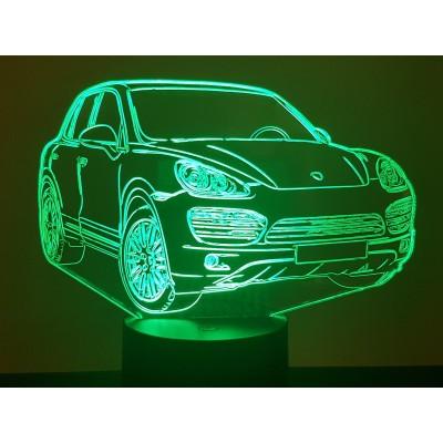 LAMPE 3D - PORSCHE  CAYENNE -