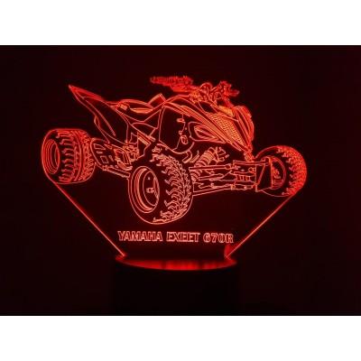 LAMPE 3D - QUAD YAMAHA...