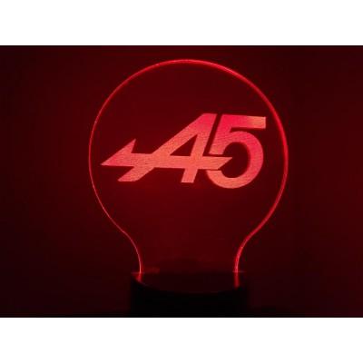 LAMPE 3D - LOGO RENAULT...