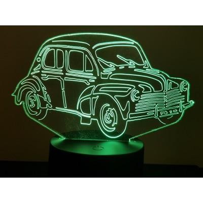 """LAMPE 3D - RENAULT 4CV """"6..."""