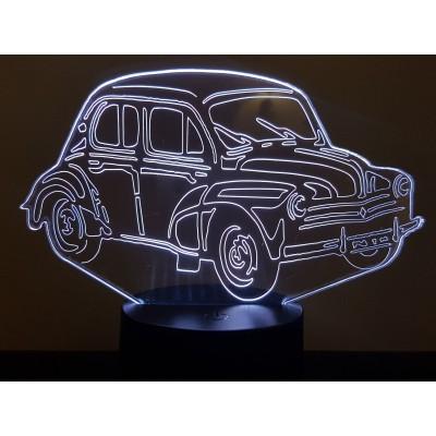 """LAMPE 3D - RENAULT 4CV """"3..."""