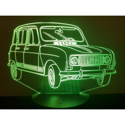 LAMPE 3D - RENAULT 4L...