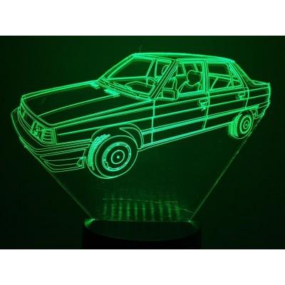 LAMPE 3D - RENAULT R9 -