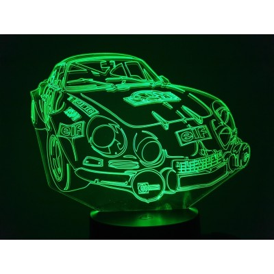 LAMPE 3D - RENAULT Alpine...