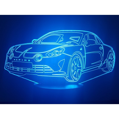LAMPE 3D - ALPINE A110 (New) -