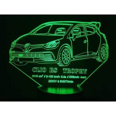 LAMPE 3D - RENAULT CLIO RS...