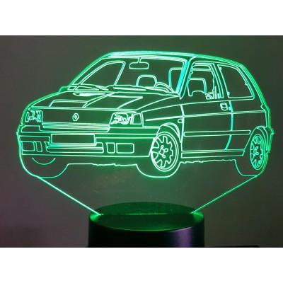 LAMPE 3D - RENAULT CLIO...