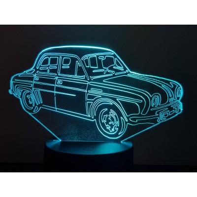 LAMPE 3D - RENAULT DAUPHINE -