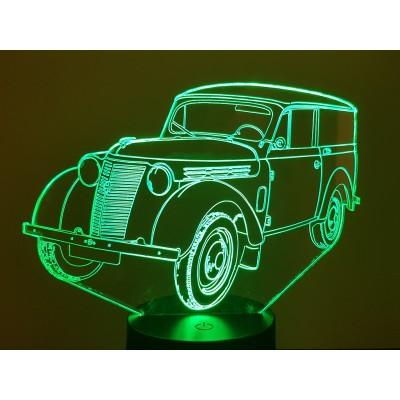 LAMPE 3D - RENAULT JUVA 4 -