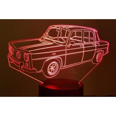 LAMPE 3D - RENAULT R8...