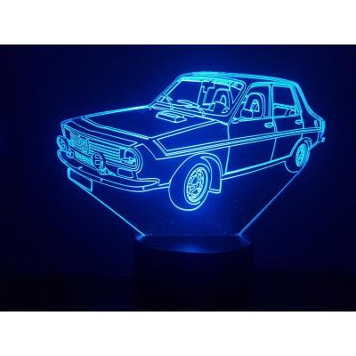 LAMPE 3D - RENAULT R12...