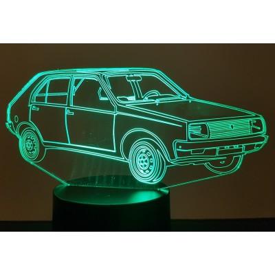 LAMPE 3D - RENAULT R14 -